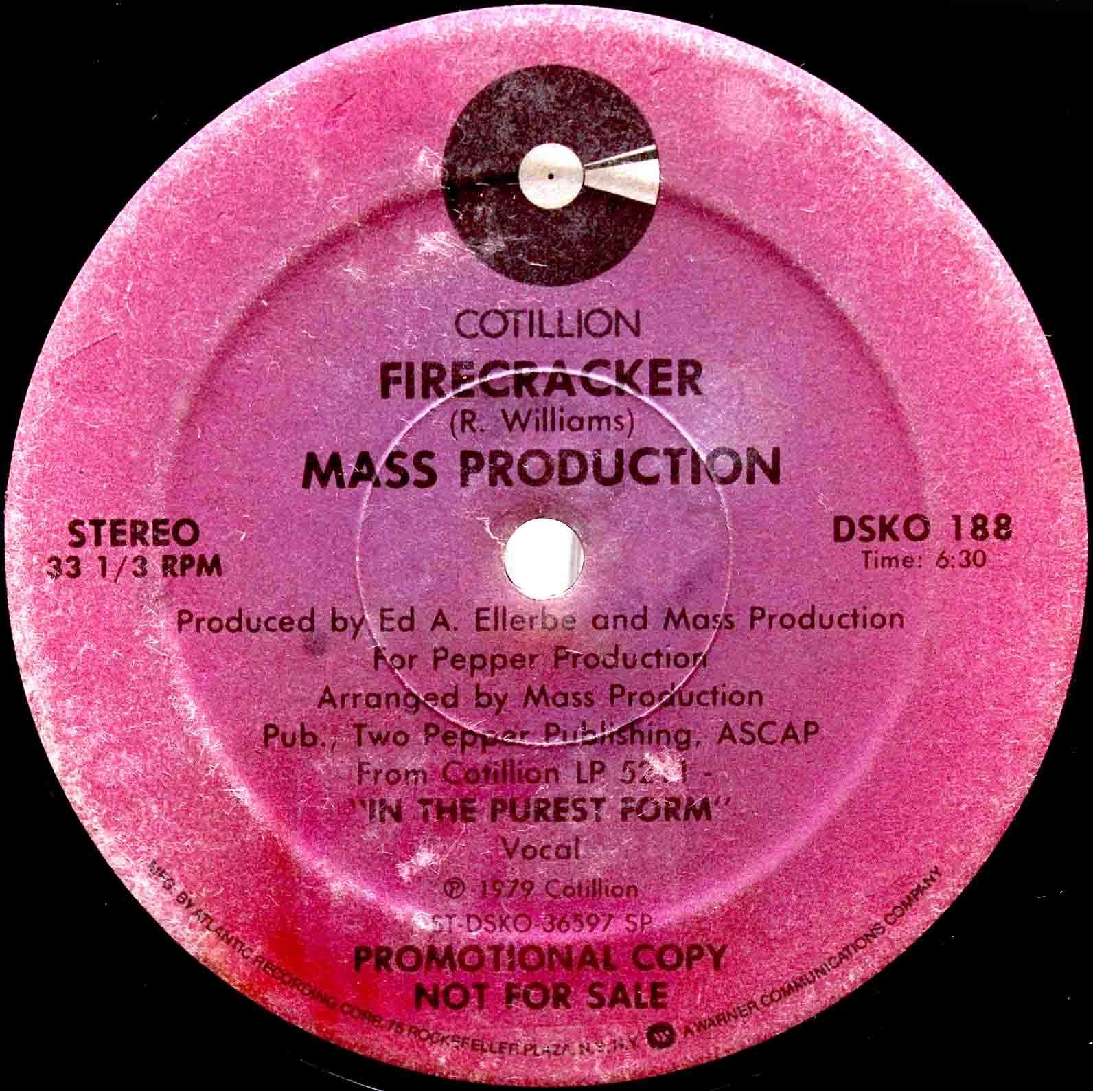 Mass Production – Firecracker 03