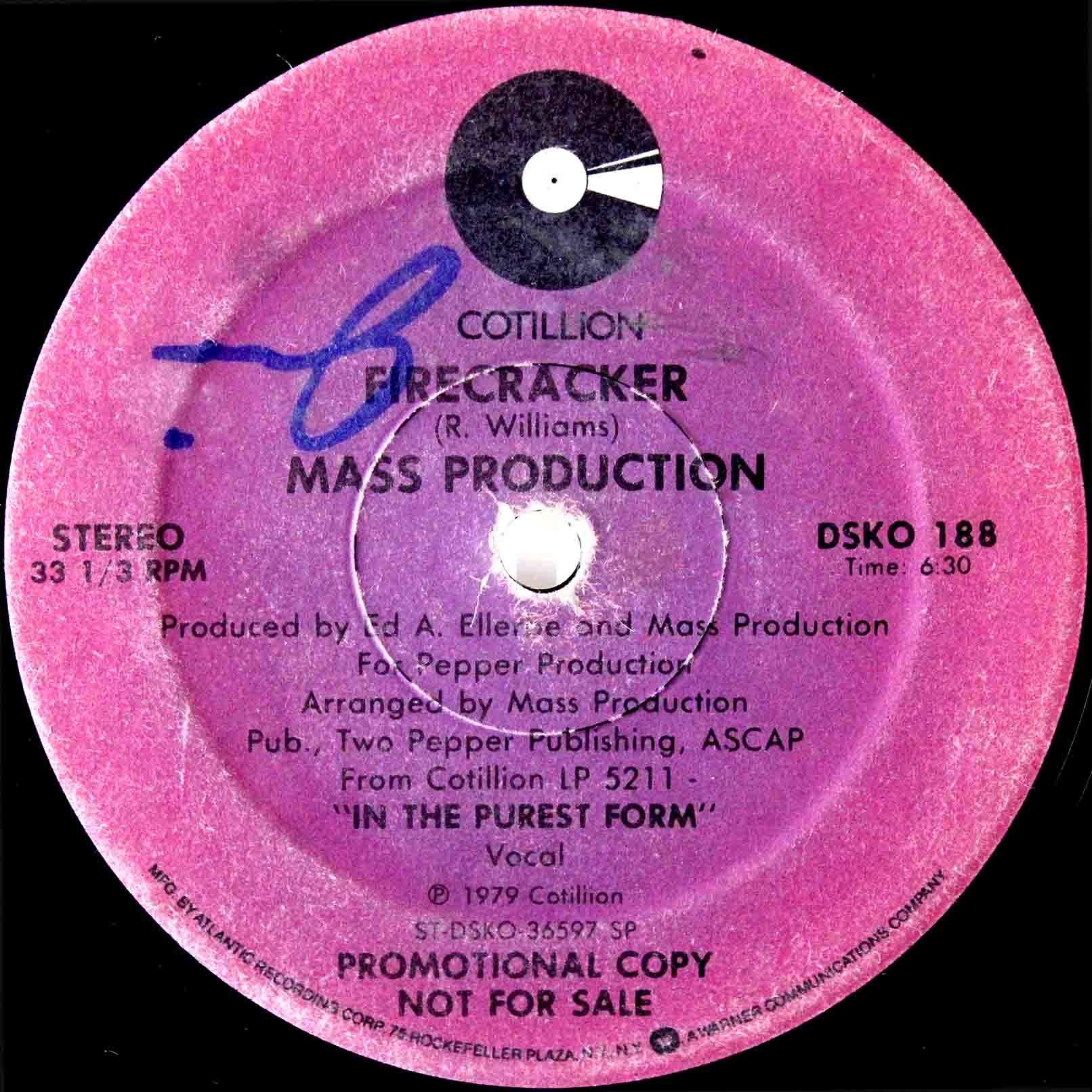 Mass Production – Firecracker 04