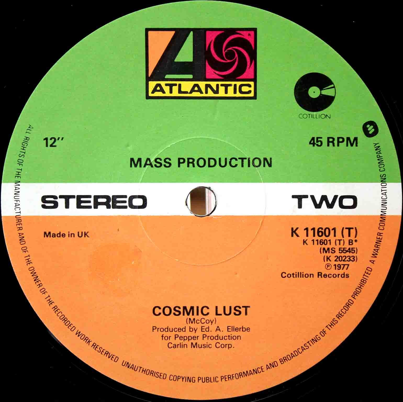 Mass Production - Cosmic Lust 02