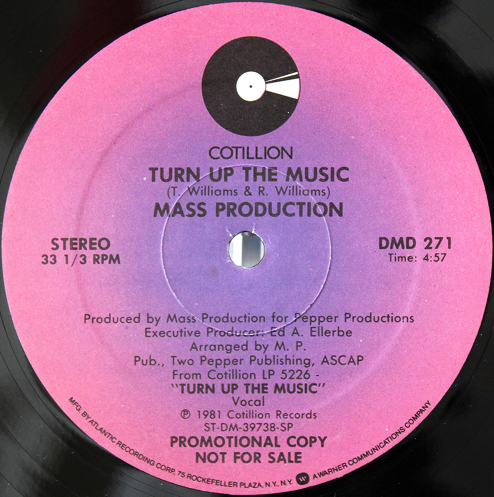 Mass Production Turn Up The Music 12 03