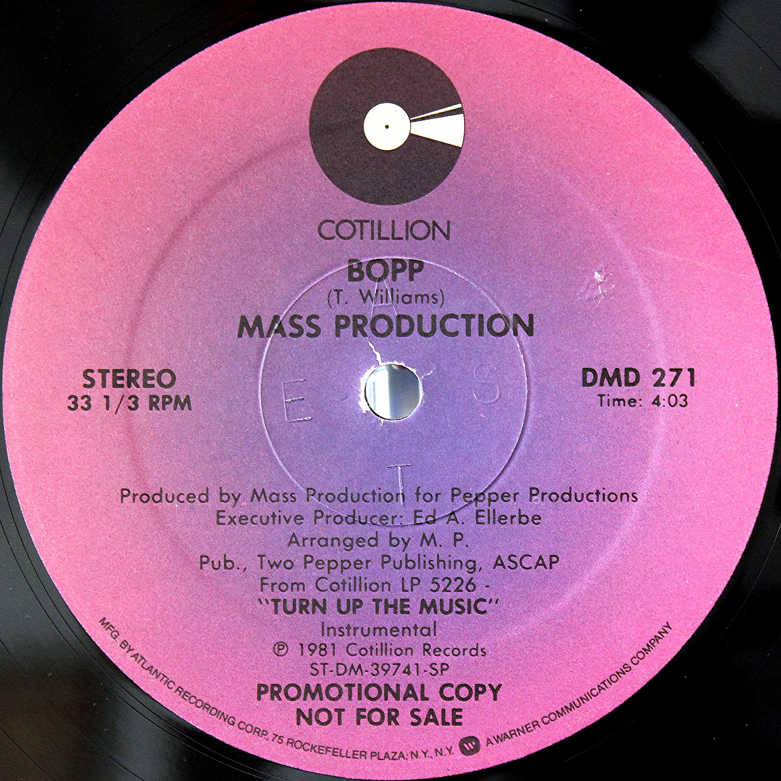 Mass Production Turn Up The Music 12 04