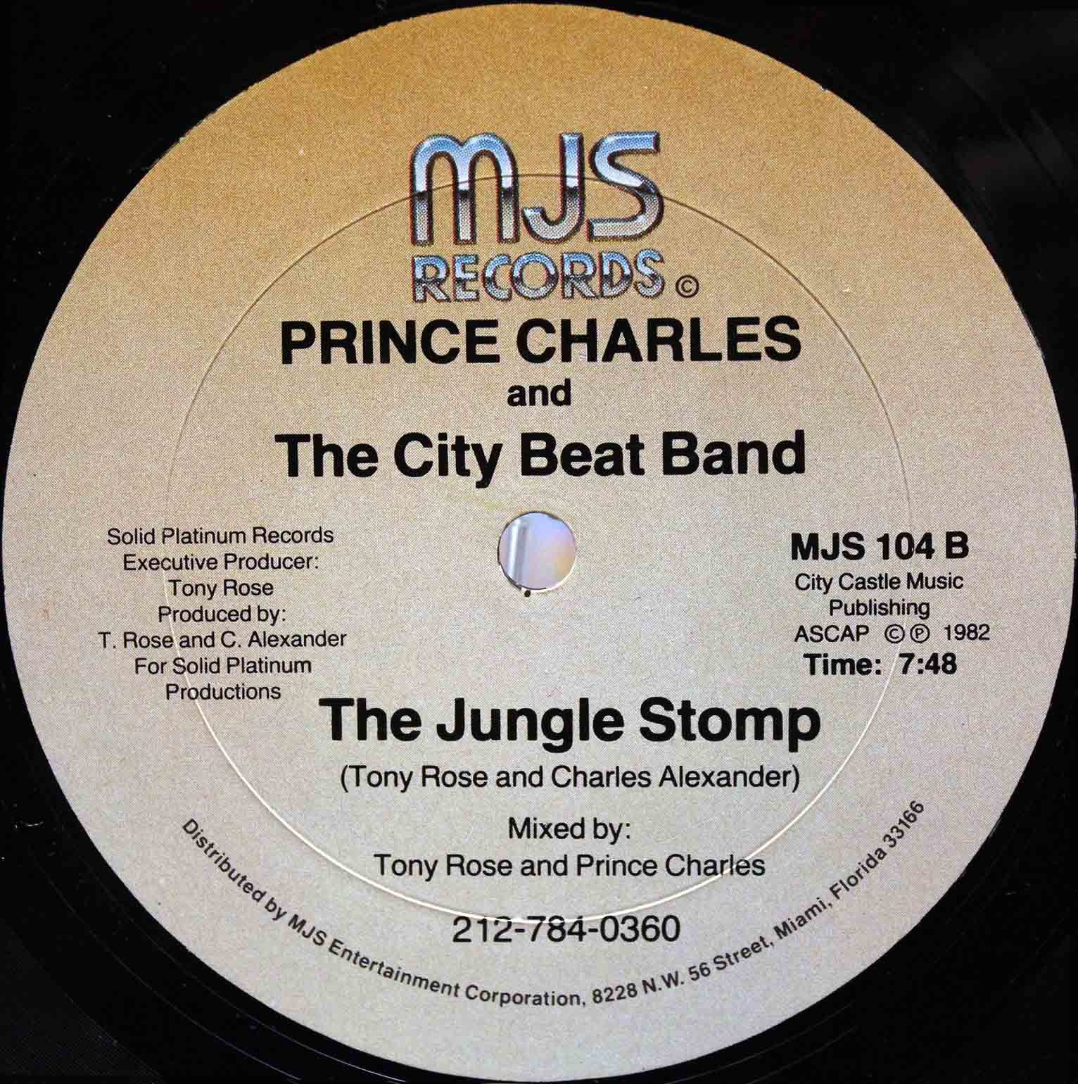 Prince Charles And The City Beat Band ‎– Fool For Love 04