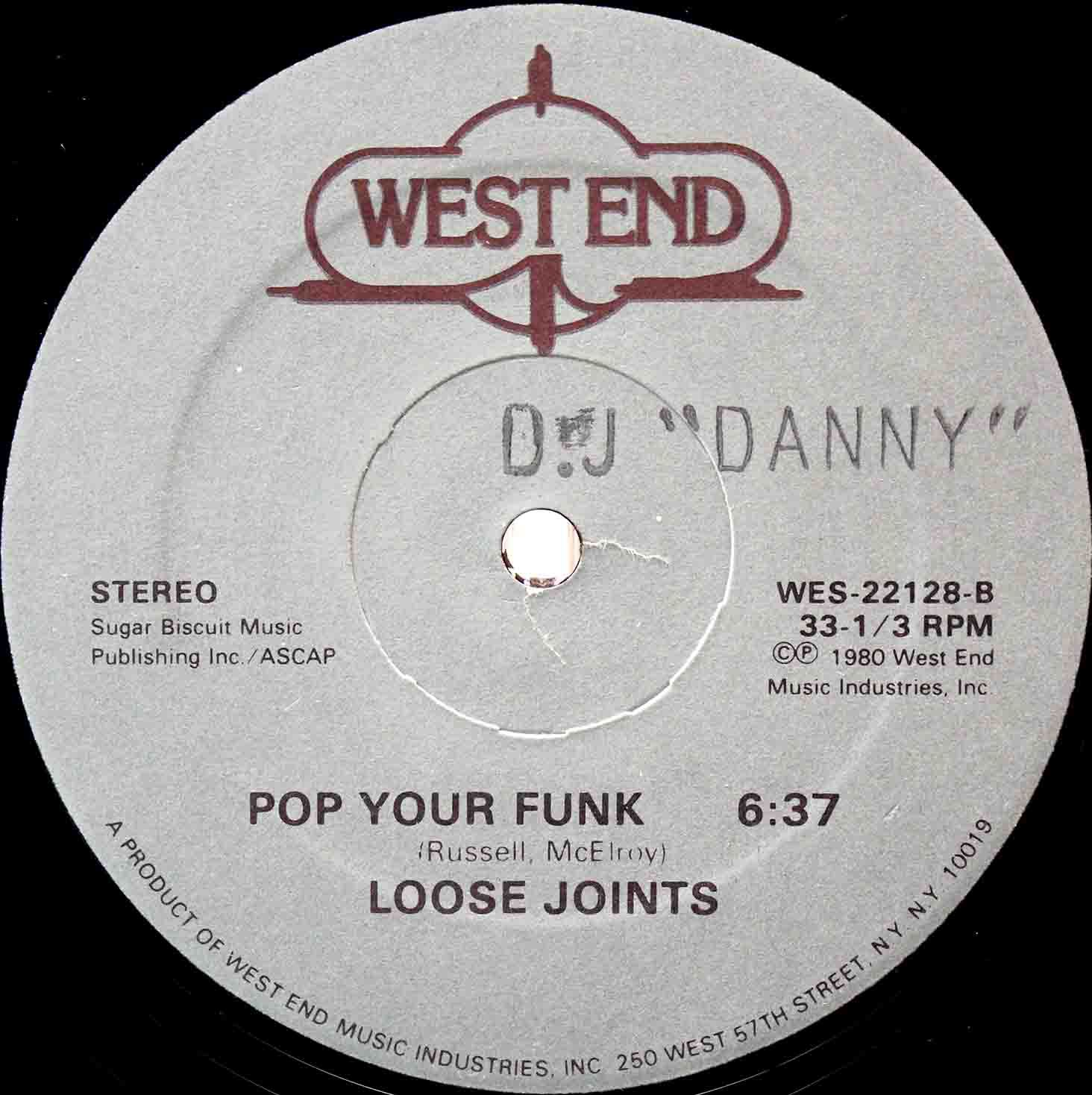 Loose Joints ‎Pop Your Funk 03