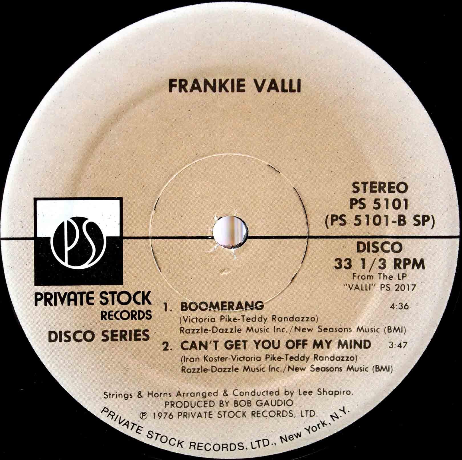Frankie Valli – Swearin To God 04