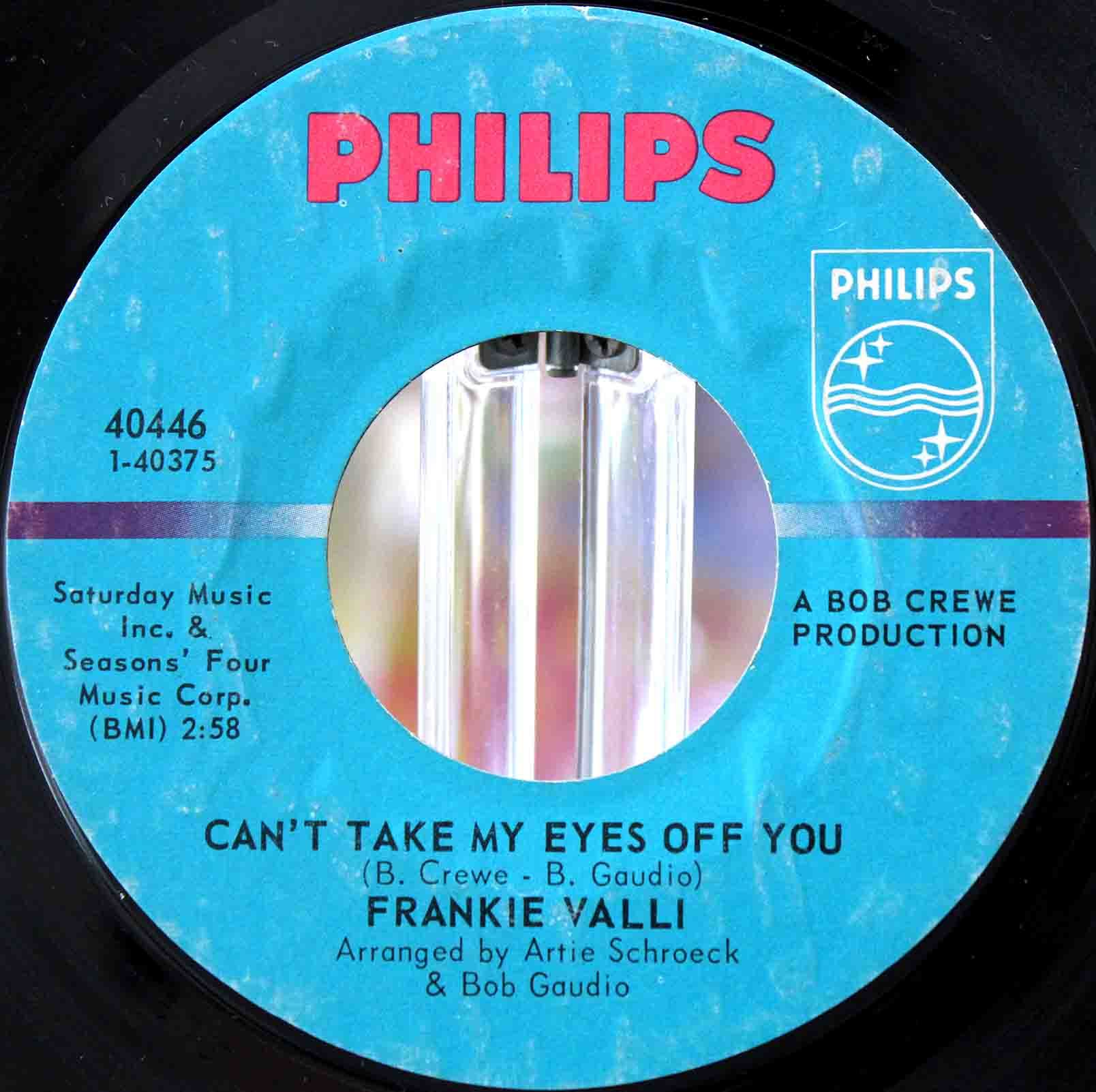 Frankie Valli - Cant take my eyes off you 03