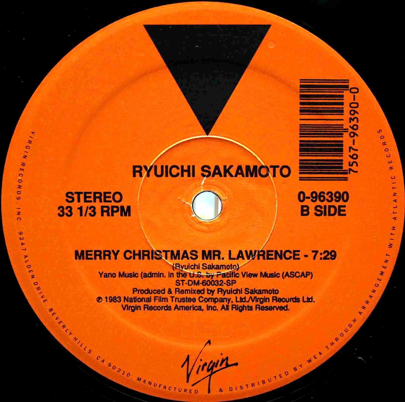 坂本龍一 Merry Christmas Mr Lawrence 03