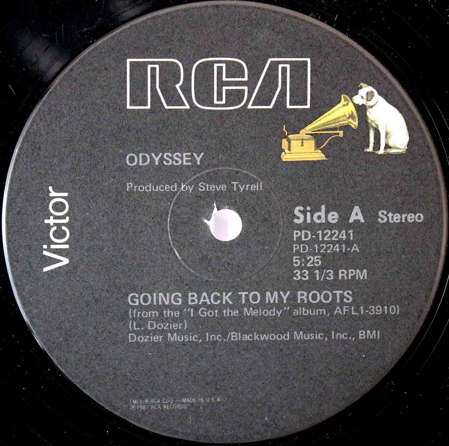 Odyssey ‎– Going Back To My Roots 03