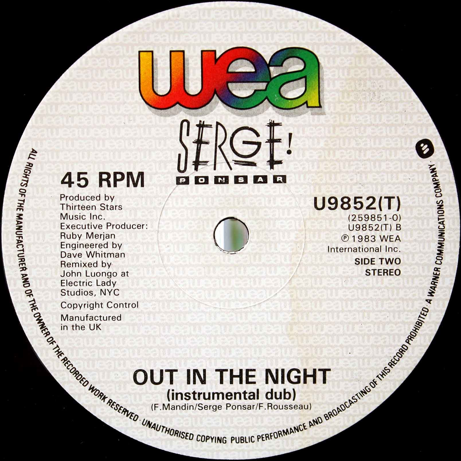 Serge Ponsar – Out In The Night 04