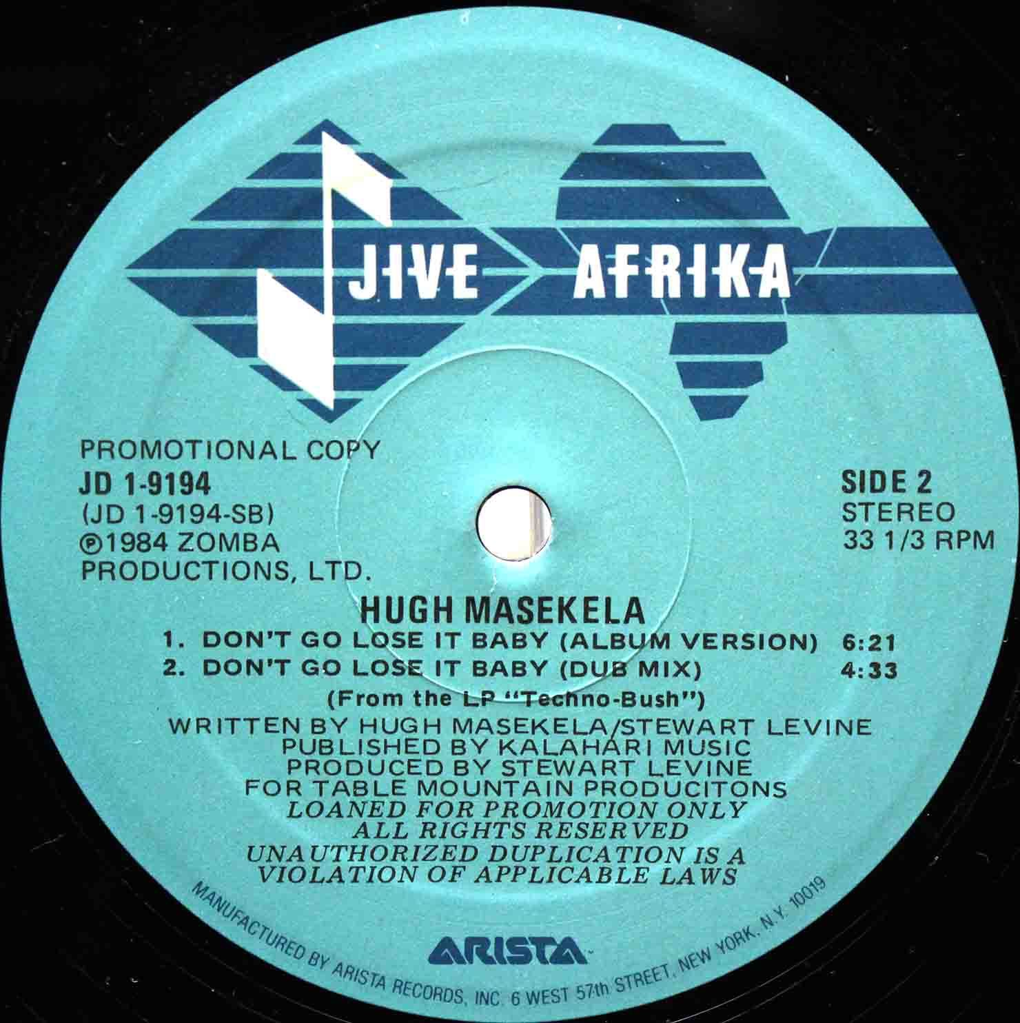 Hugh Masekela - Dont Go Lose It Baby 04
