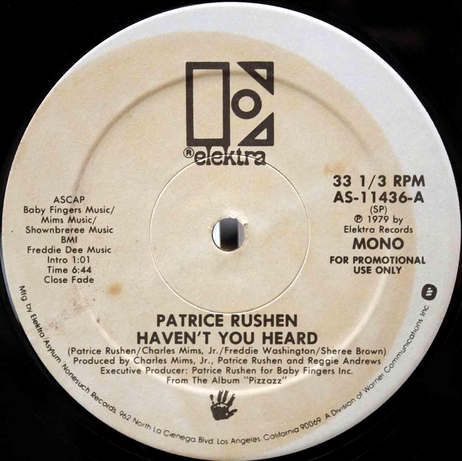 Patrice Rushen – Havent You Heard 04