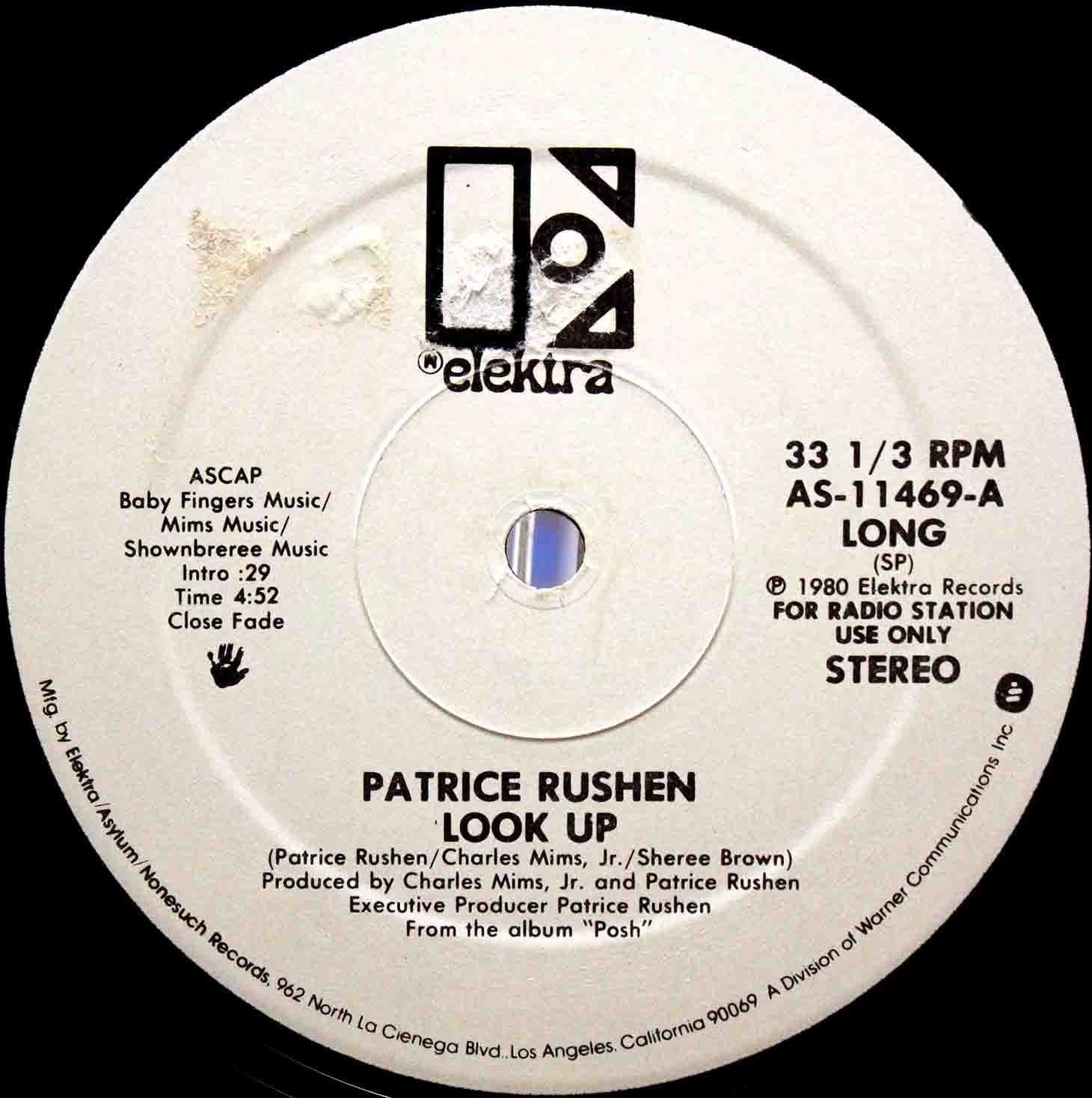 Patrice Rushen ‎– Look Up US Promo 03