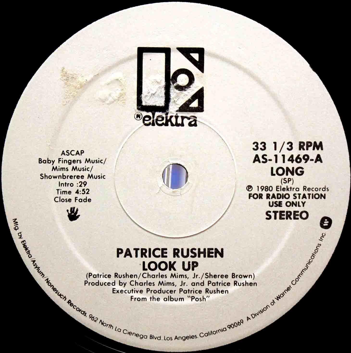 Patrice Rushen – Look Up US Promo 03