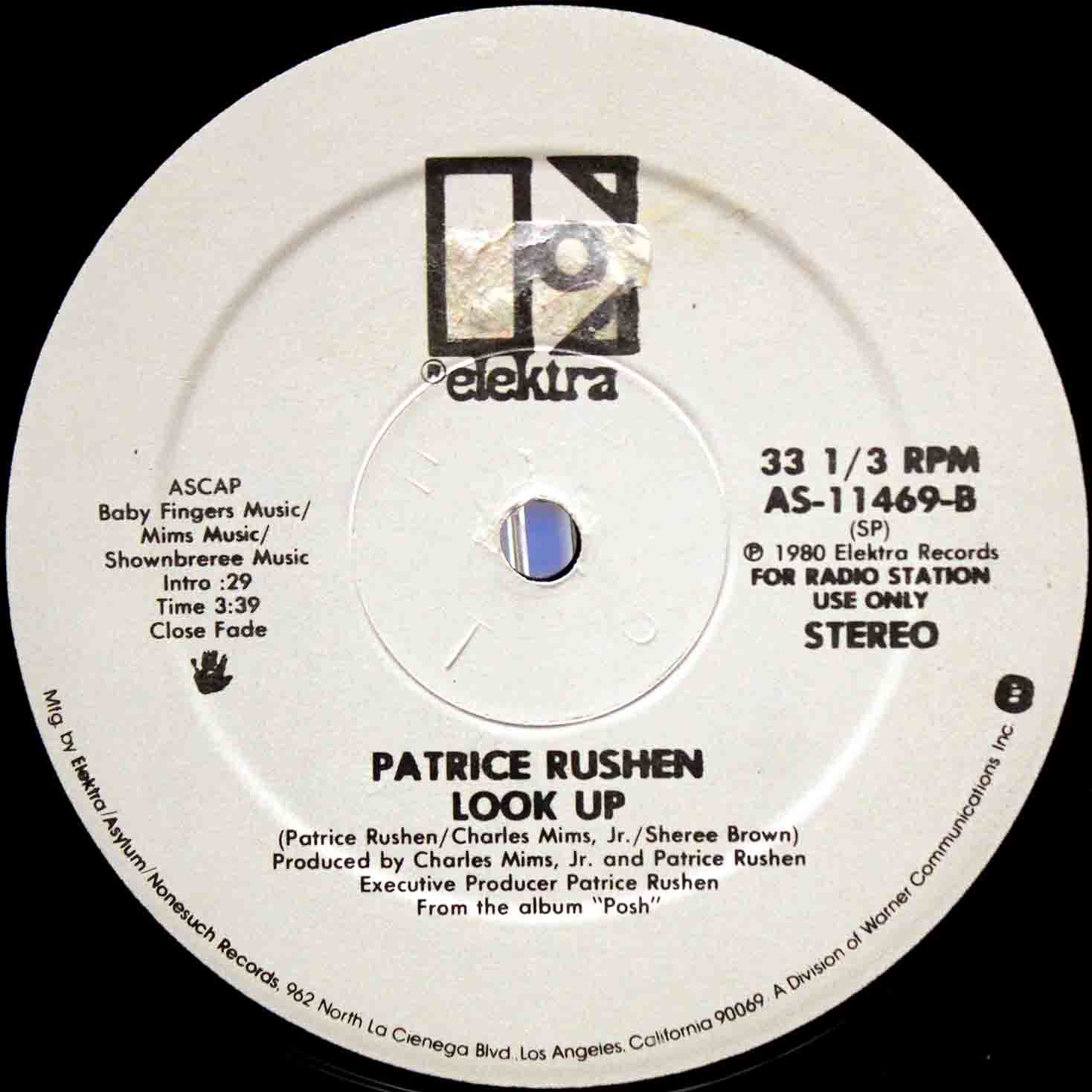 Patrice Rushen ‎– Look Up US Promo 04