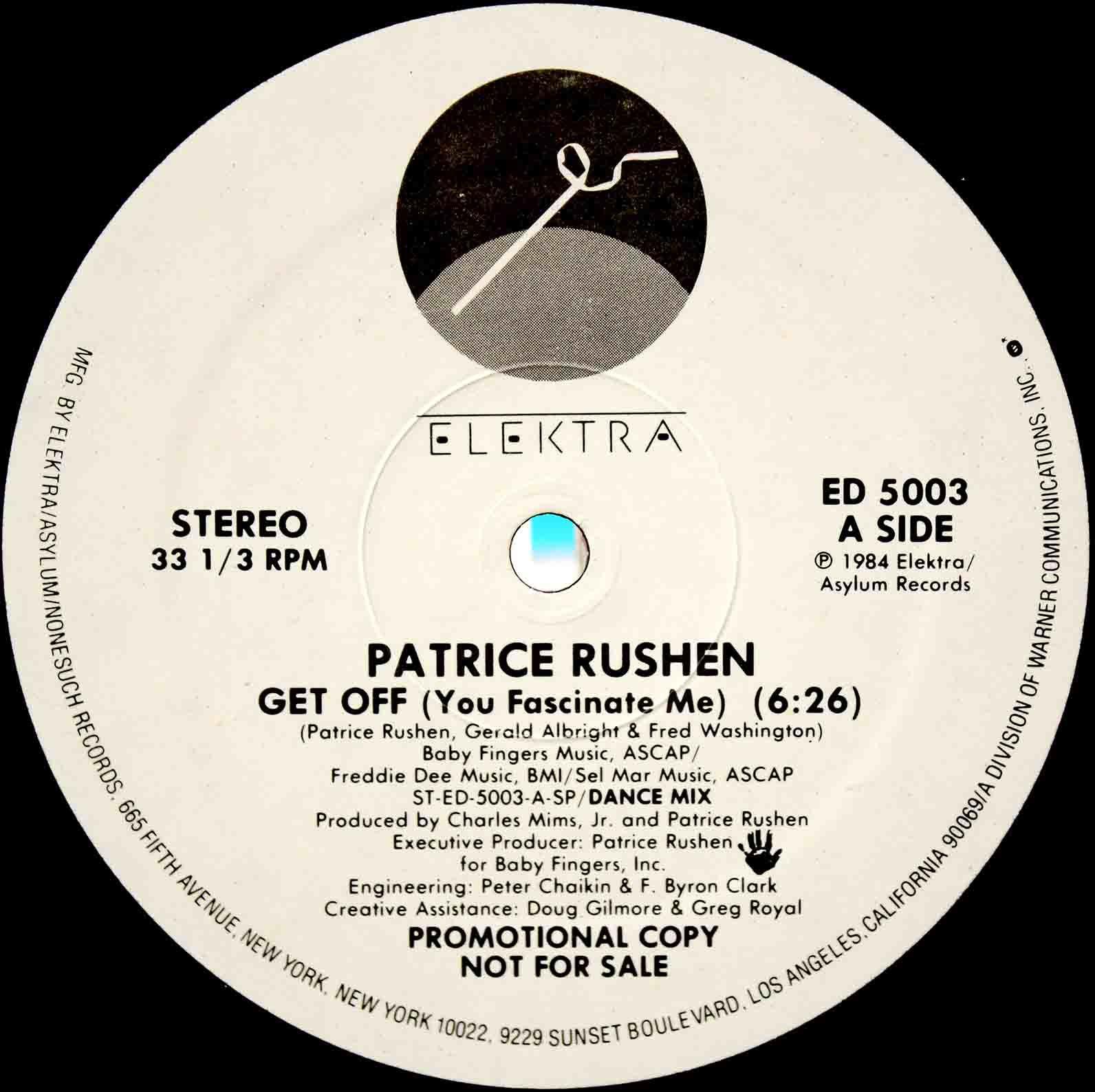 Patrice Rushen – Get Off 03