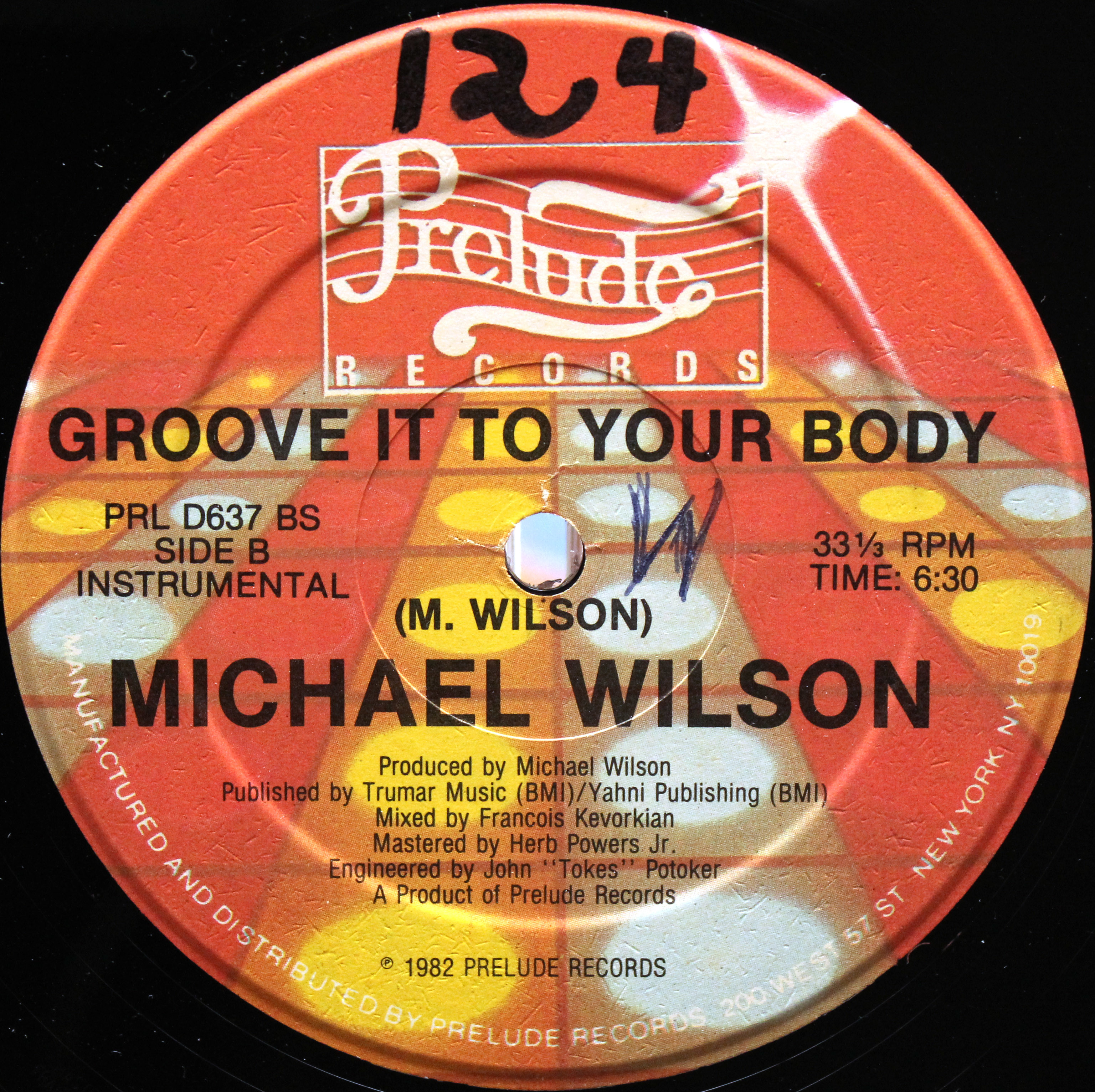 Michael Wilson ‎– Groove It To Your Body 04