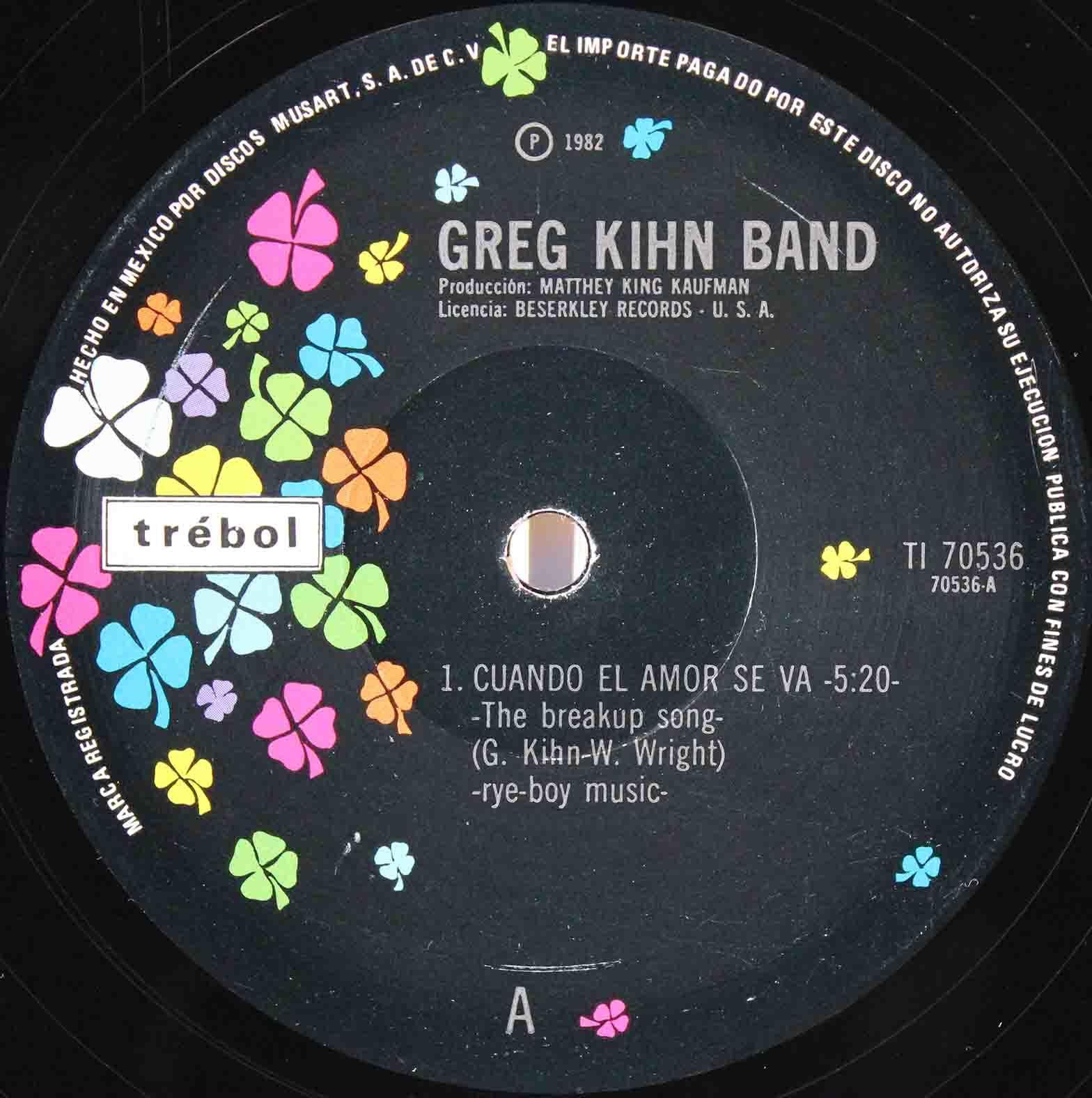 Greg Kihn Band – The Breakup Song 03