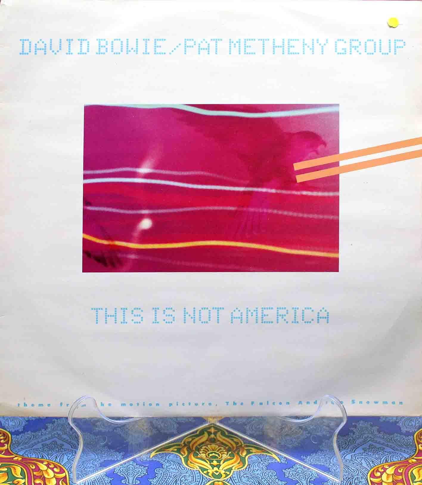 David Bowie Pat Metheny Group – This Is Not America 01