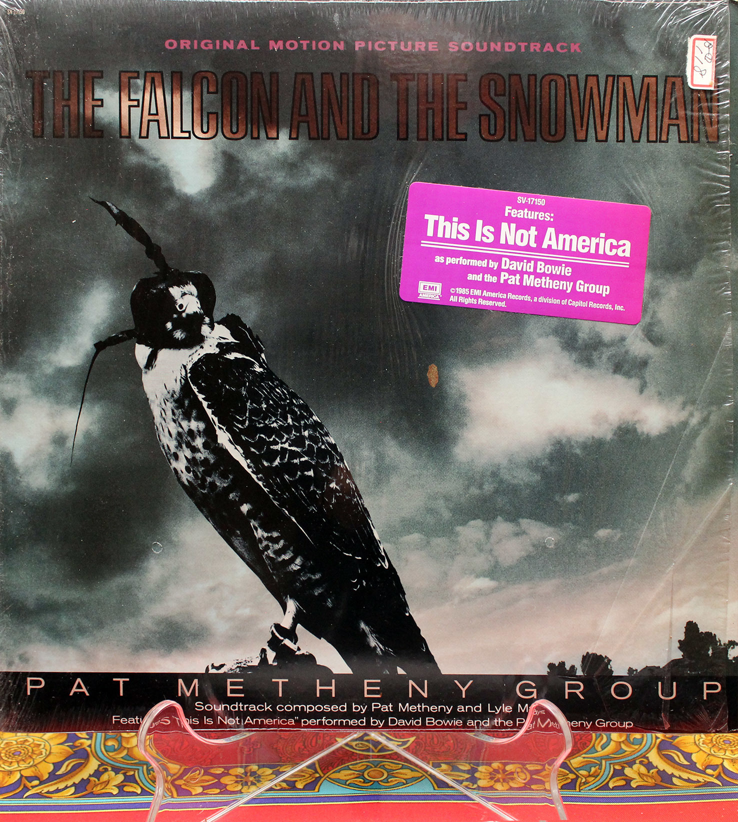 David Bowie Pat Metheny Group This Is Not America 01
