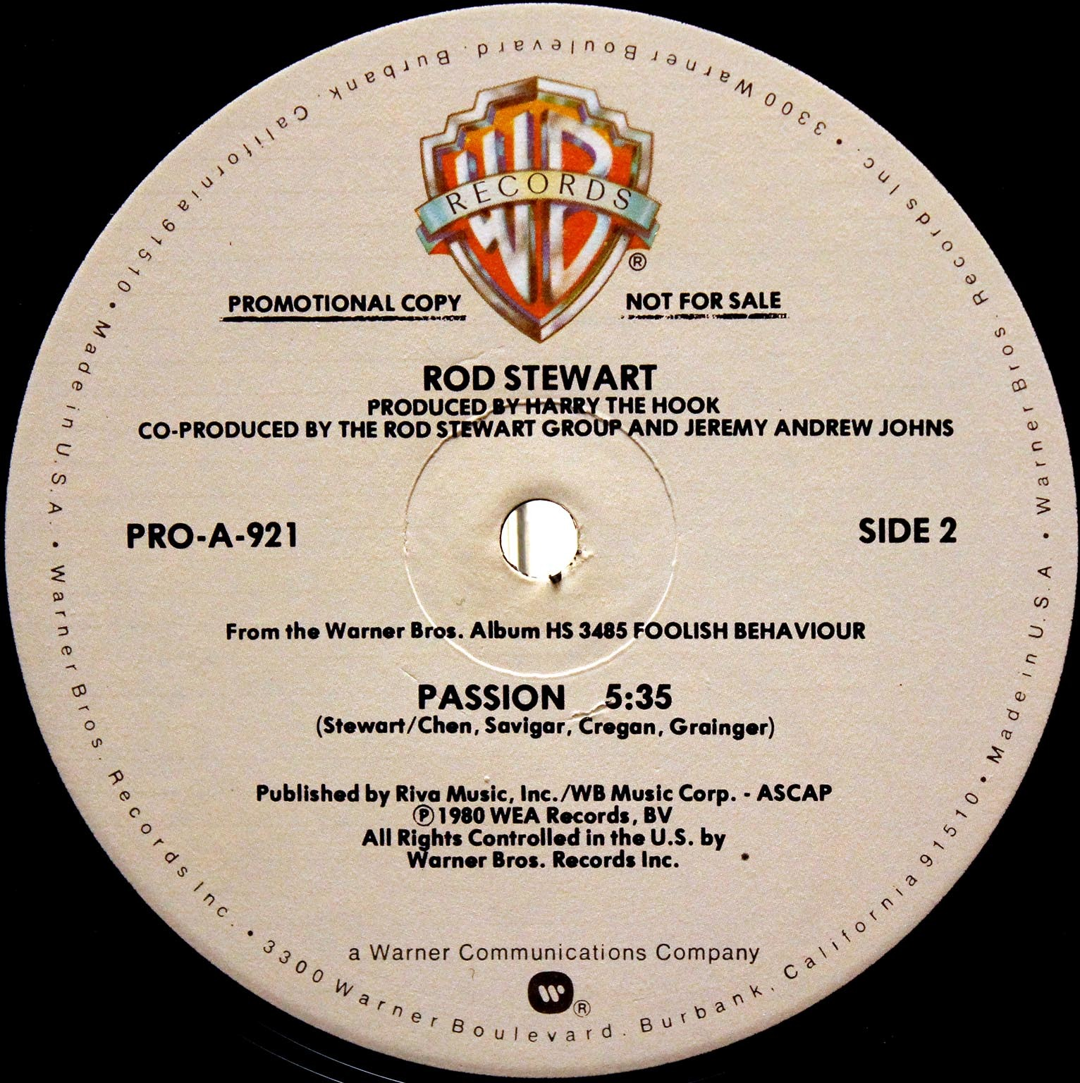 Rod Stewart – Passion 04