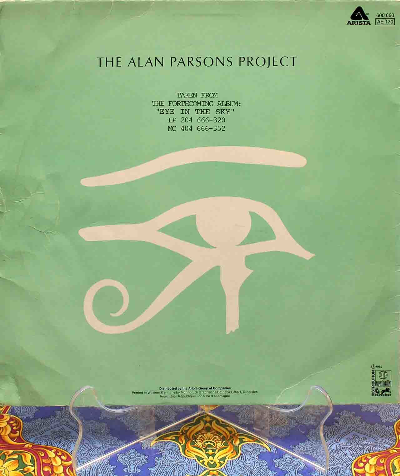 Alan Parsons Project – Eye In The Sky 12 02
