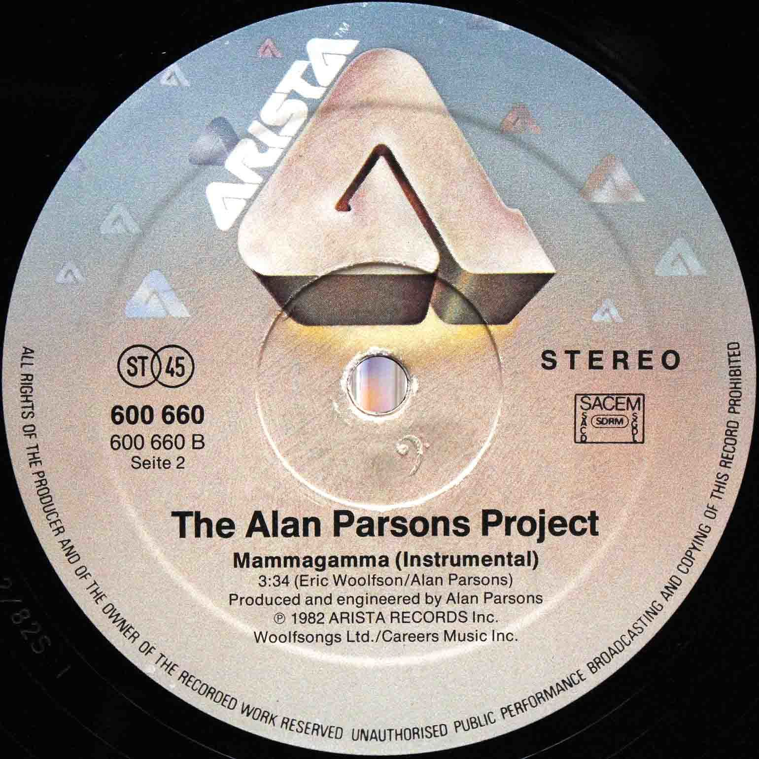 Alan Parsons Project – Eye In The Sky 12 04