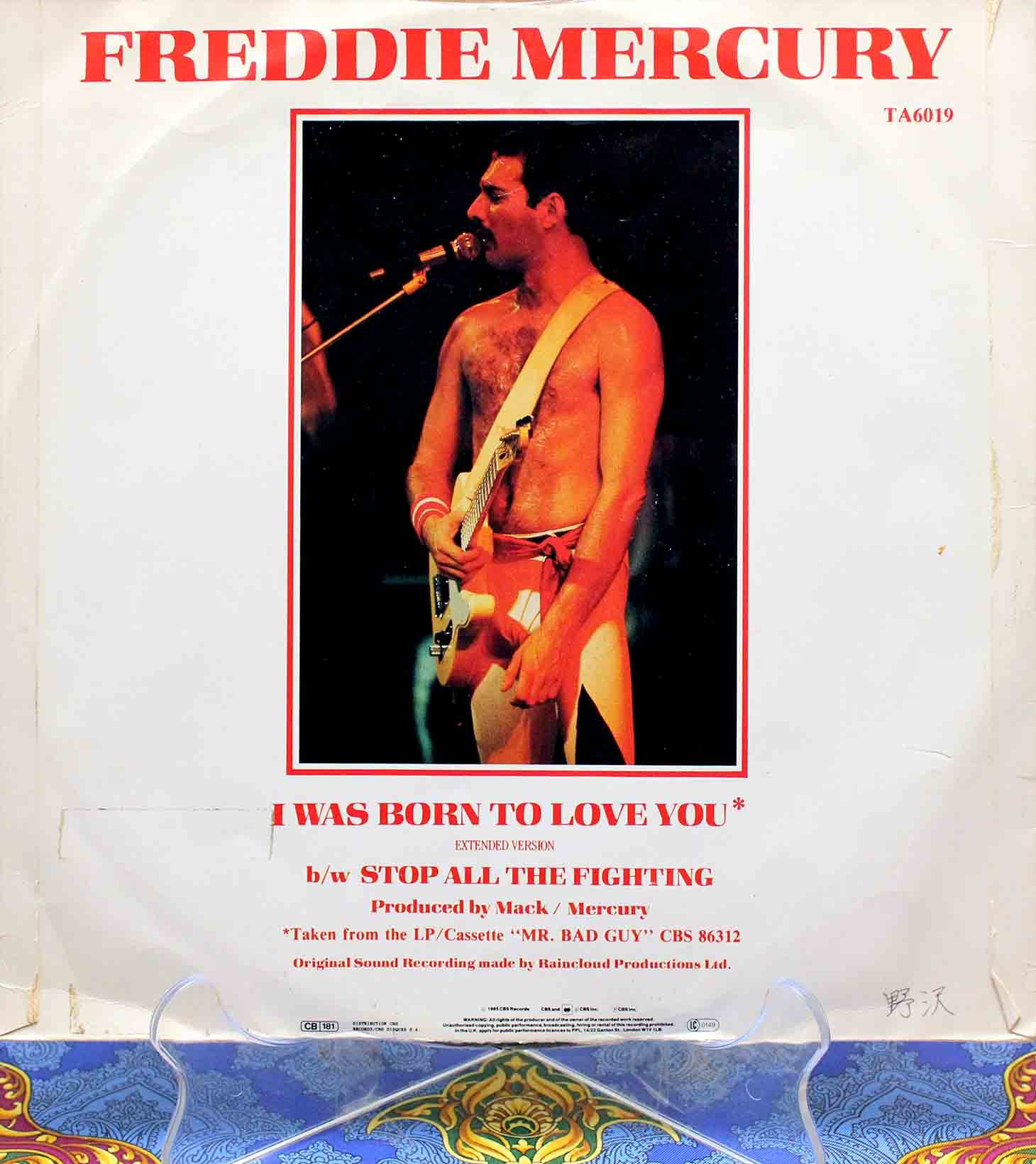 Freddie Mercury – I Was Born To Love You 02