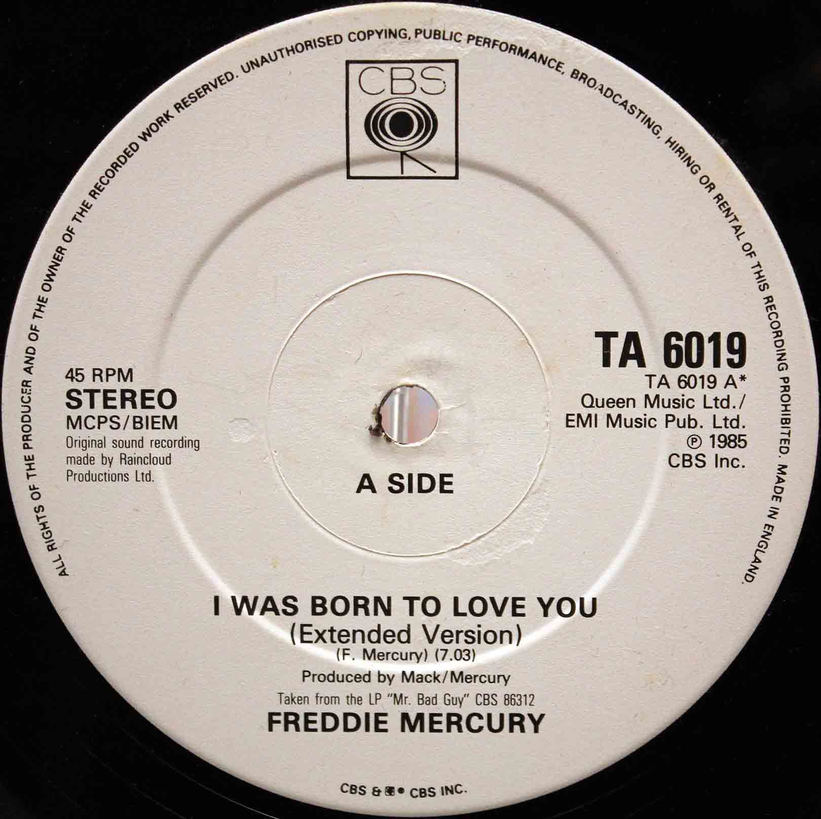 Freddie Mercury – I Was Born To Love You 03