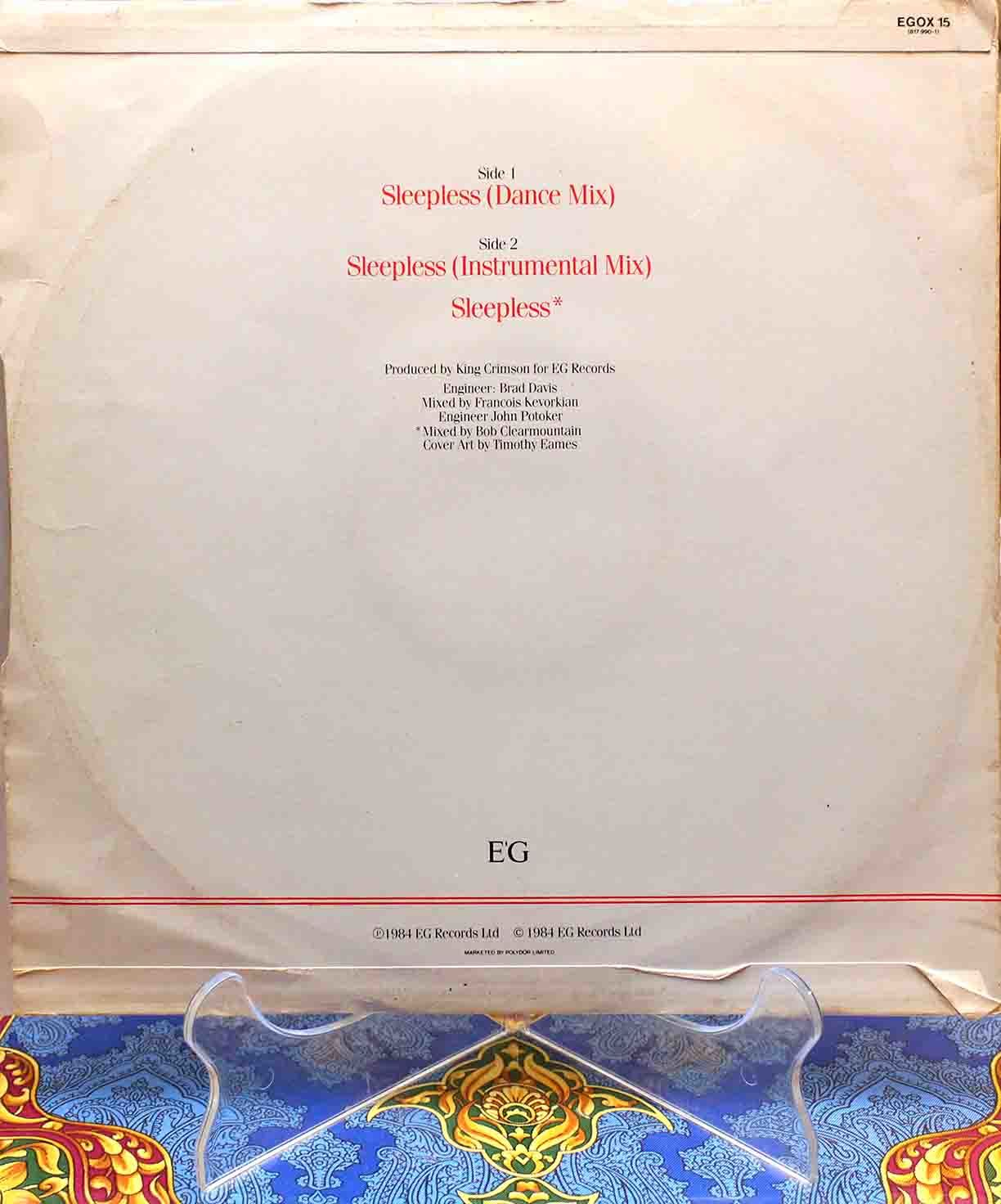 King Crimson Sleepless 02