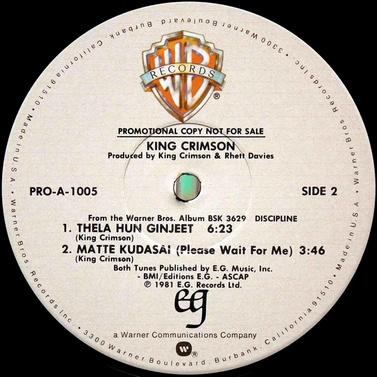 King Crimson – Thela Hun Ginjeet 02