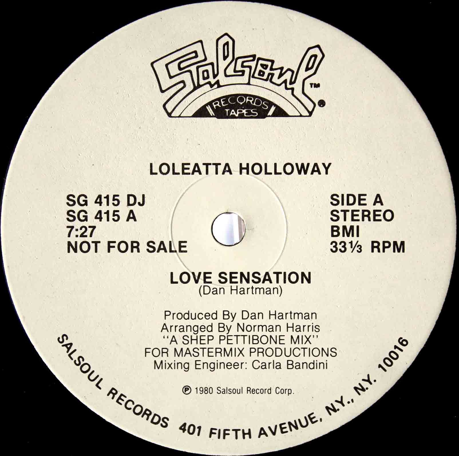 Loleatta Holloway ‎– Love Sensation 03