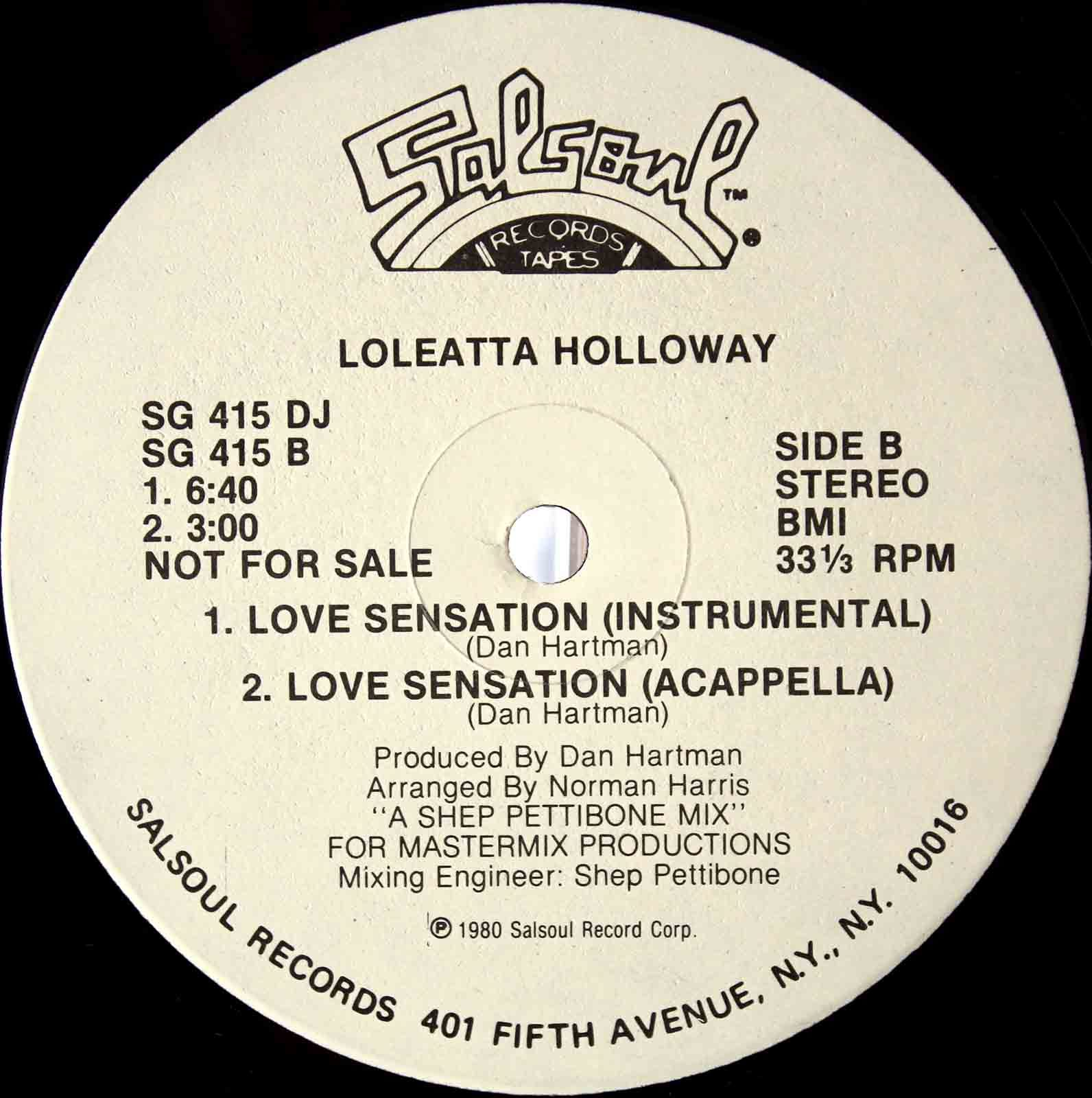 Loleatta Holloway ‎– Love Sensation 04