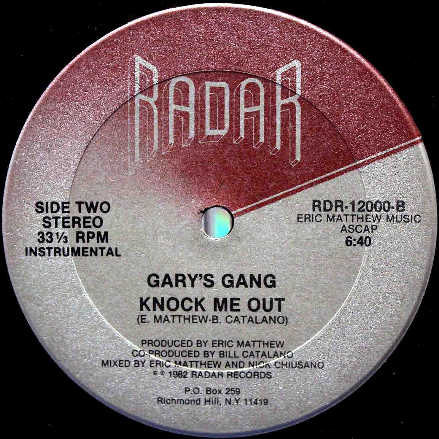 Garys Gang Knock me out 06