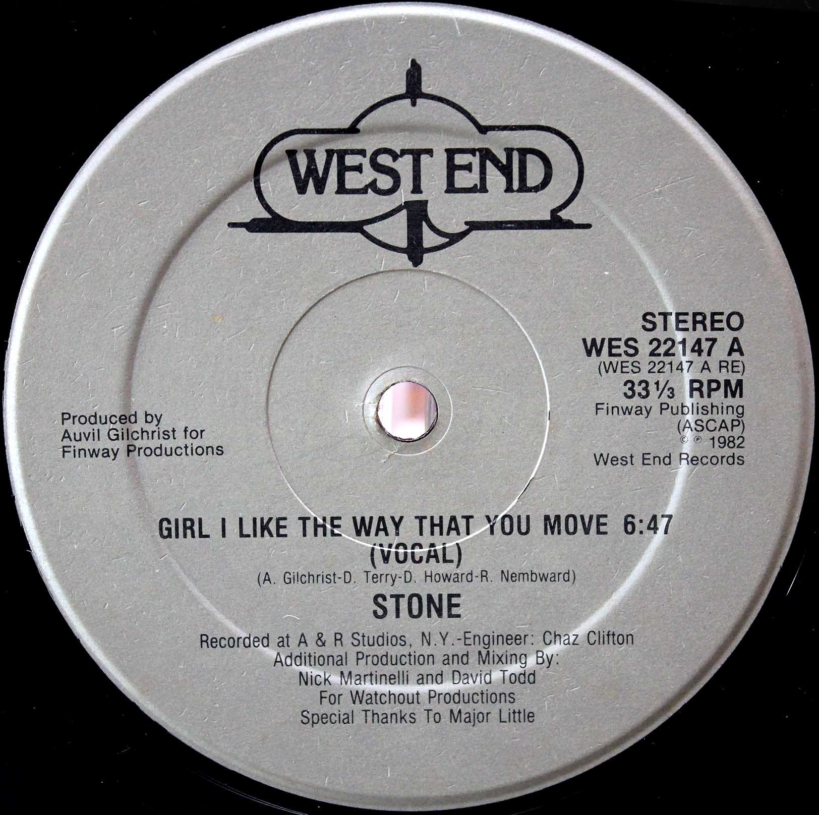 Stone ‎– Girl I Like The Way That You Move 03
