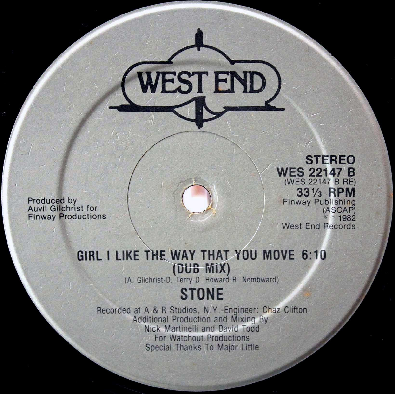 Stone ‎– Girl I Like The Way That You Move 04