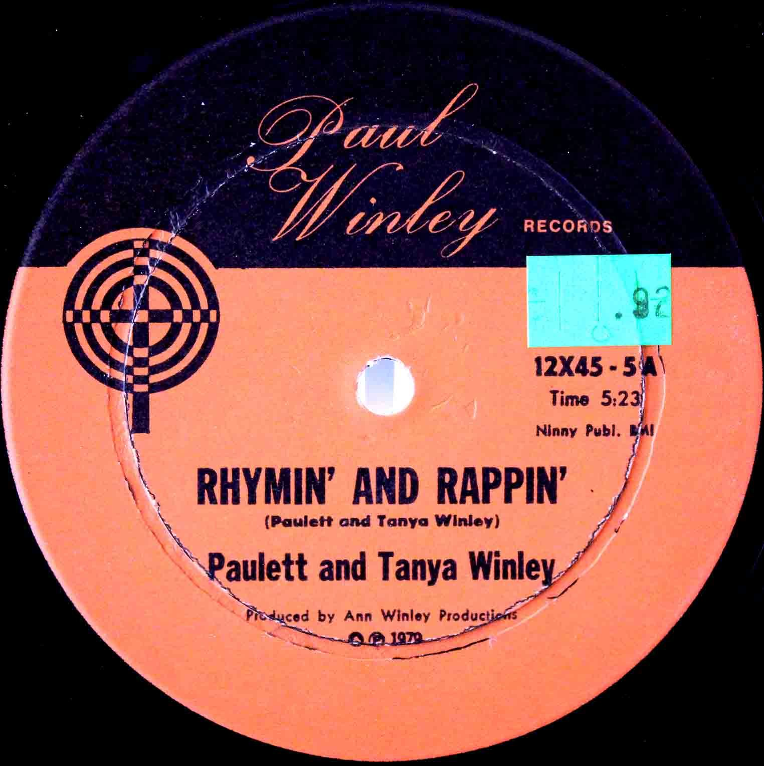 Paulett And Tanya Winley - Rhymin And Rappin 03