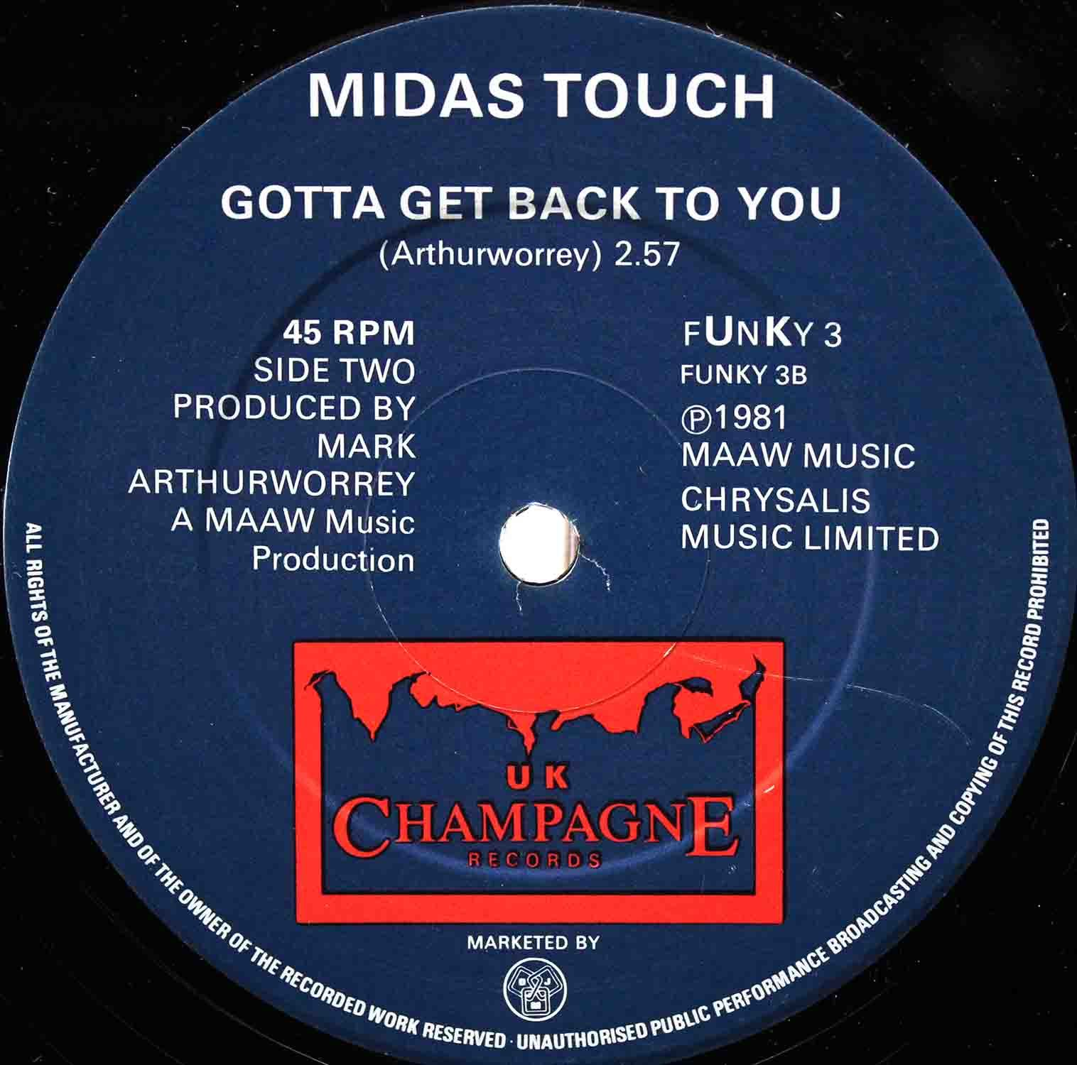 Midas Touch ‎– Too Much Love Too Soon 04