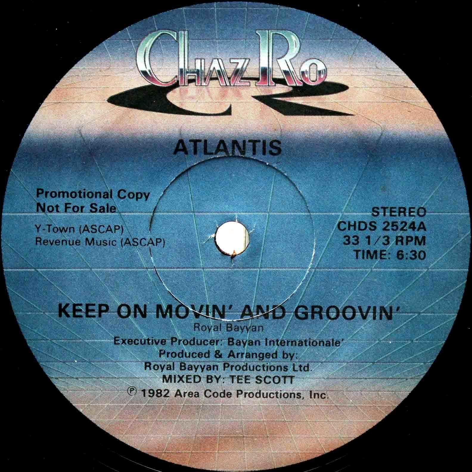 Atlantis – Keep On Movin And Groovin 03