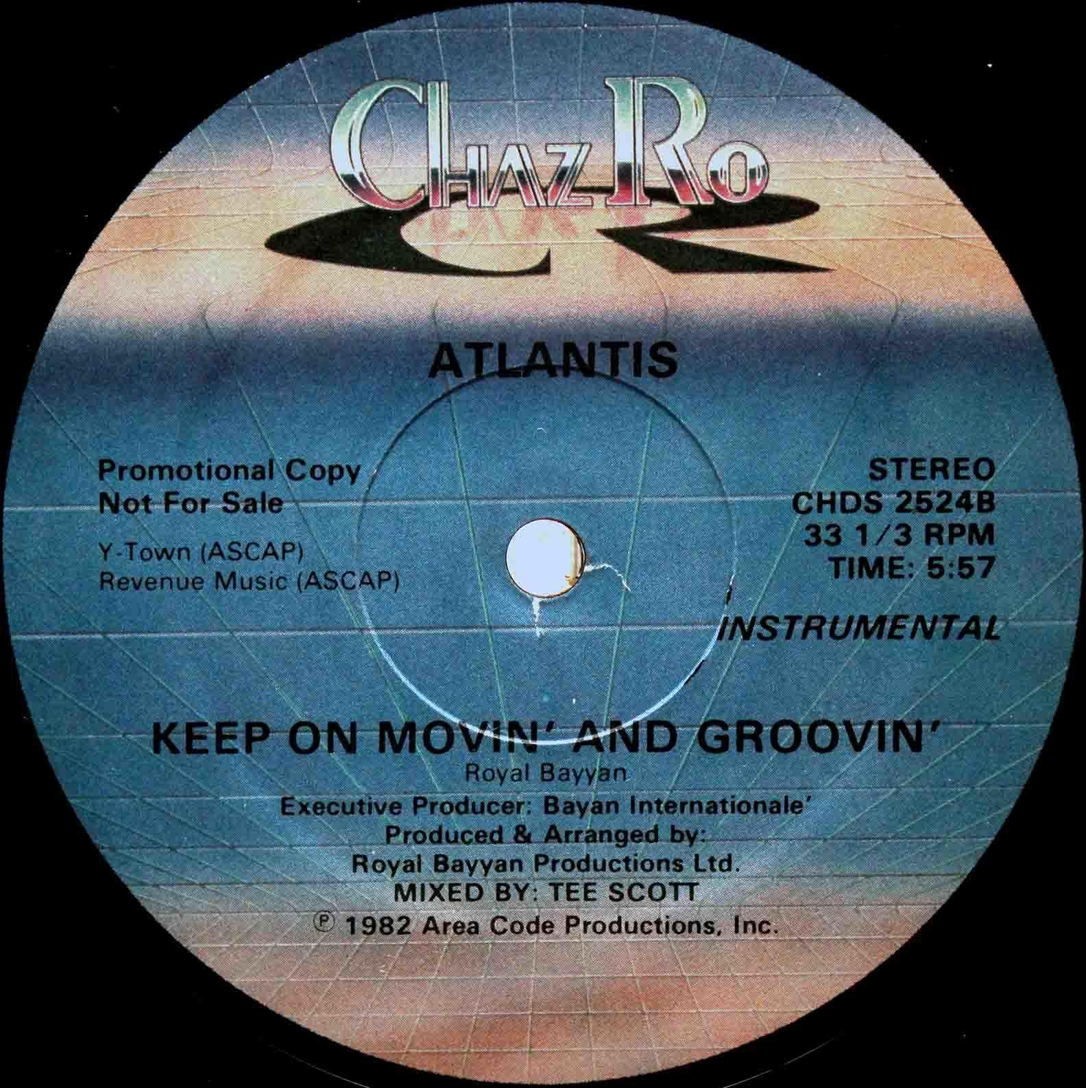 Atlantis – Keep On Movin And Groovin 04