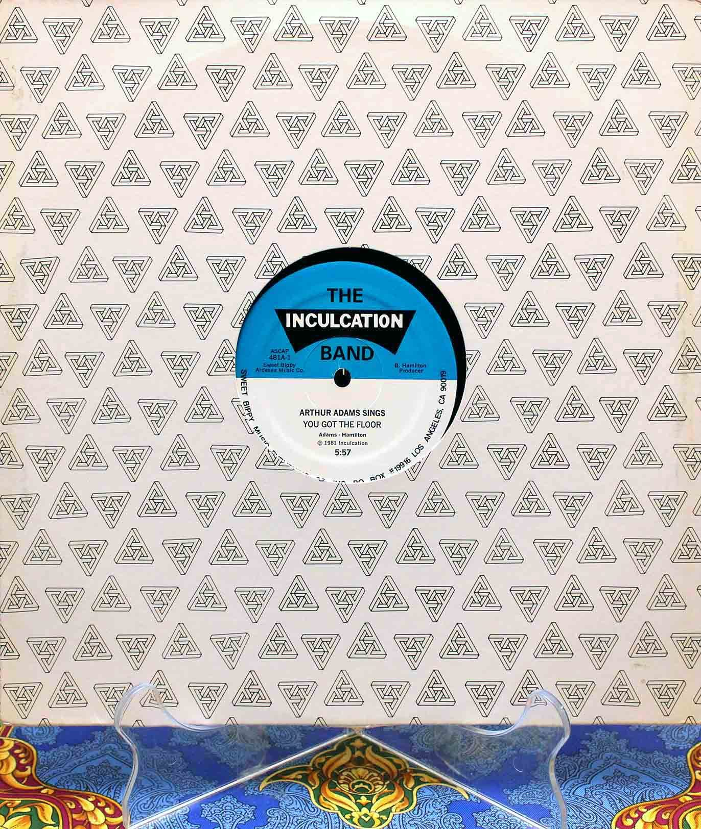 Arthur Adams – You Got The Floor 01
