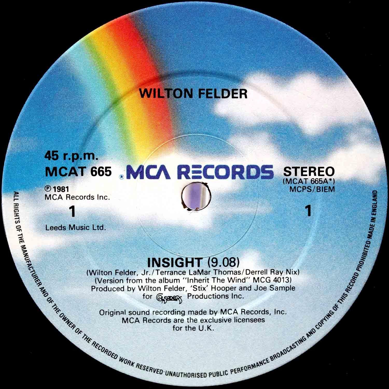 Wilton Felder – Insight 03