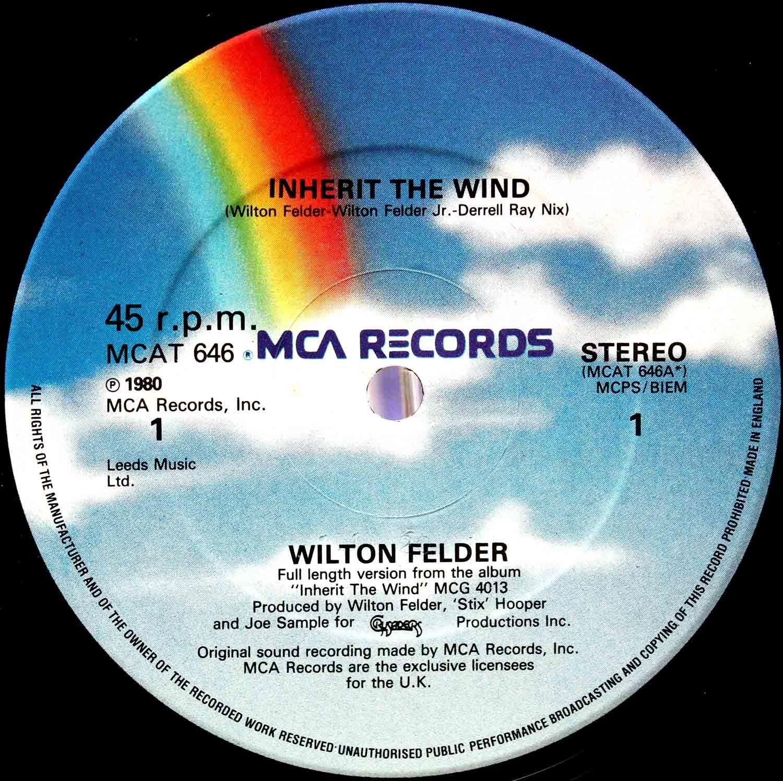 Wilton Felder –12` Inherit The Wind 03