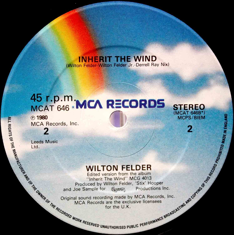Wilton Felder –12` Inherit The Wind 04