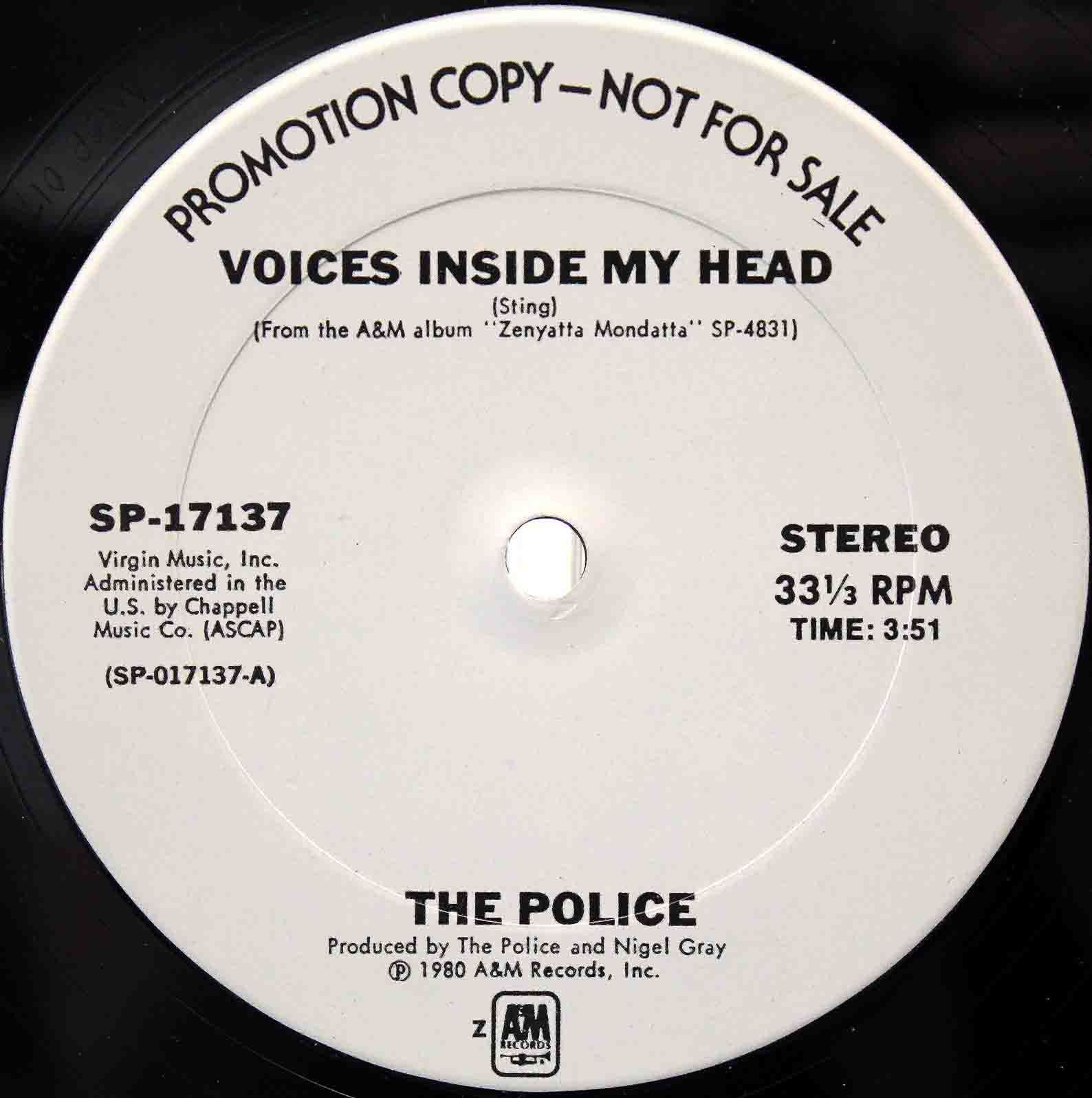 The Police - Voices Inside My Head 02