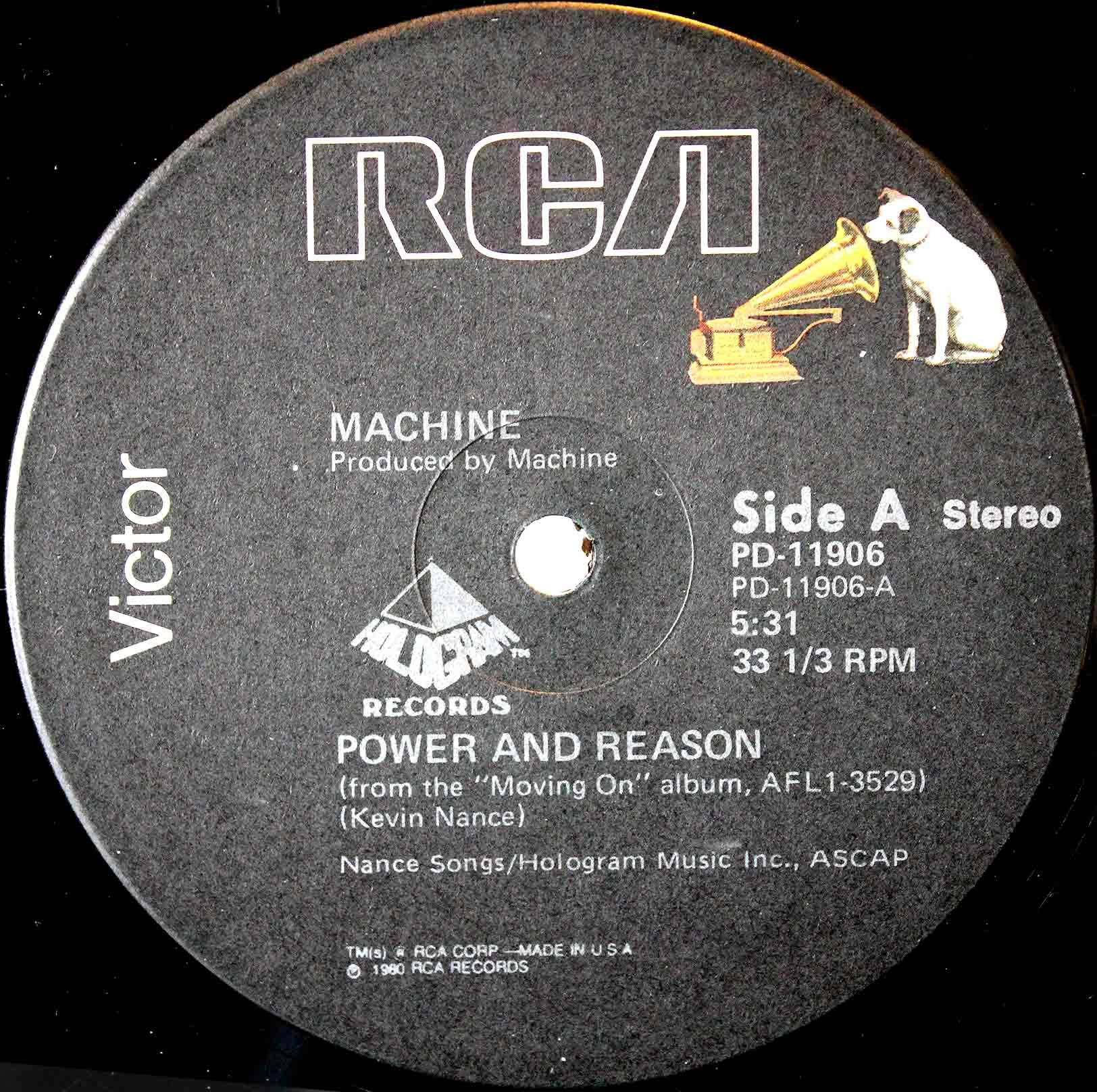 Machine ‎– Power And Reason 03