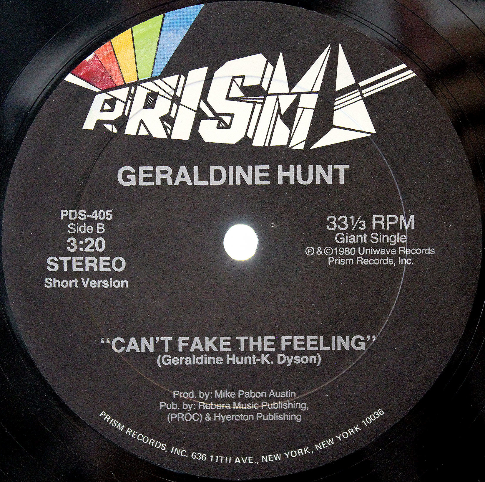 Geraldine Hunt Cant Fake The Feeling 04