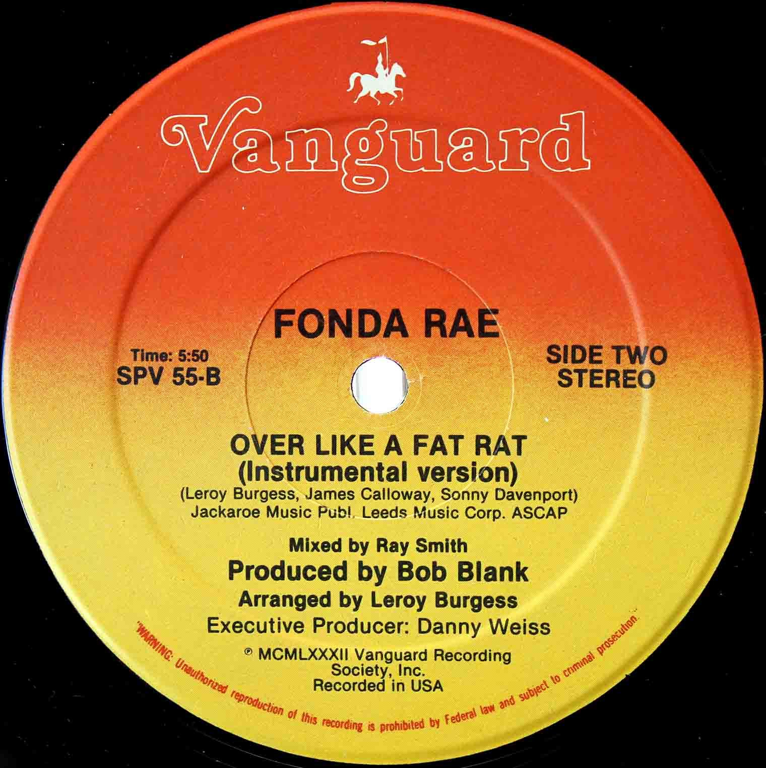 Fonda Rae Over Like Fat Rat 04