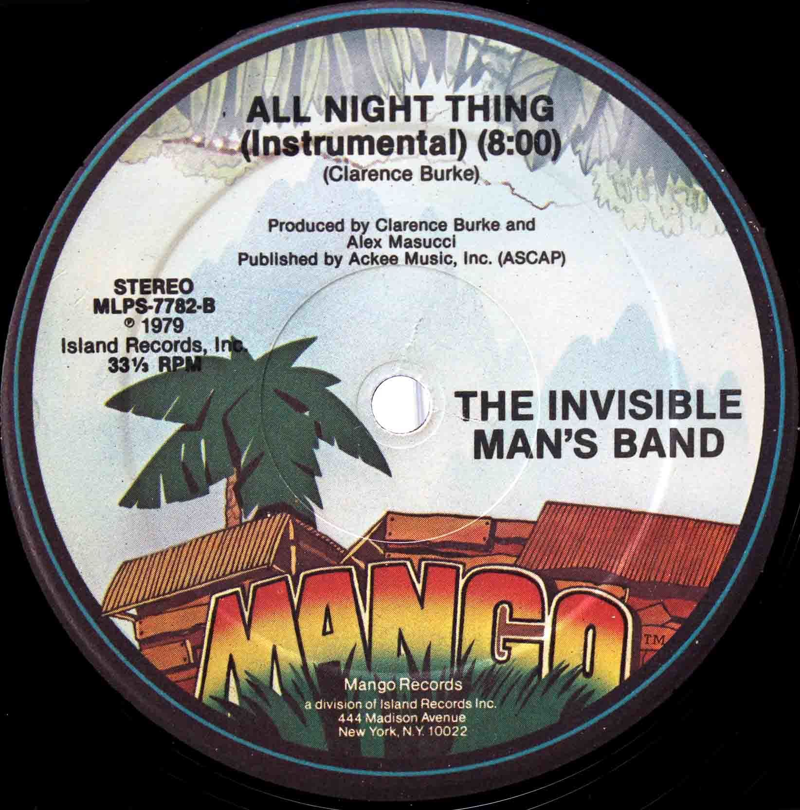 Invisible Mans Band – All Night Thing 04