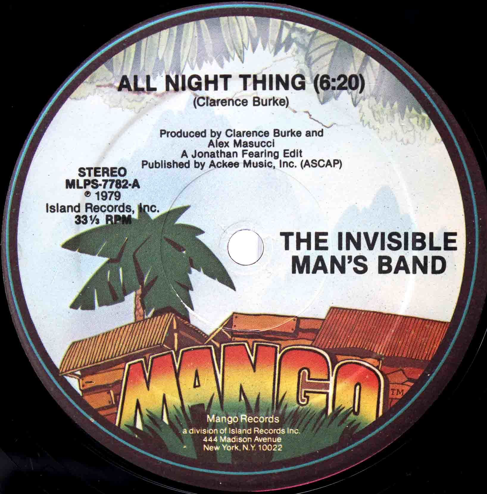Invisible Mans Band – All Night Thing 03