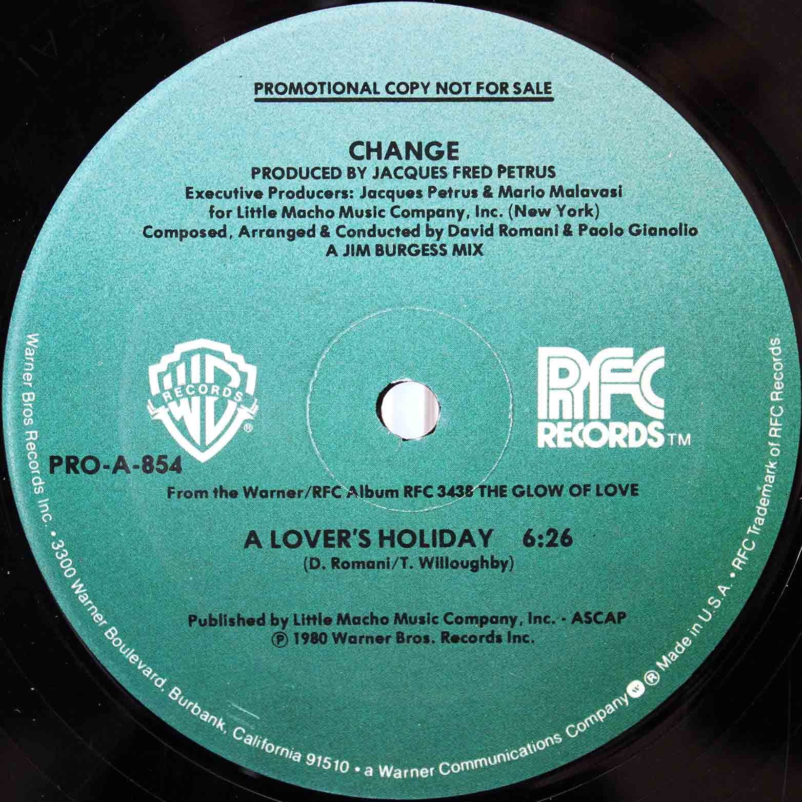 Change ‎– A Lovers Holiday 03