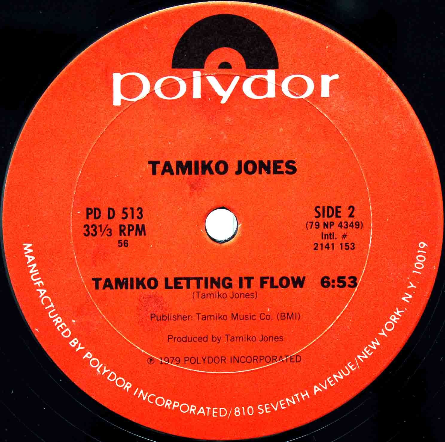 Tamiko Jones ‎– Cant Live Without Your Love US 04